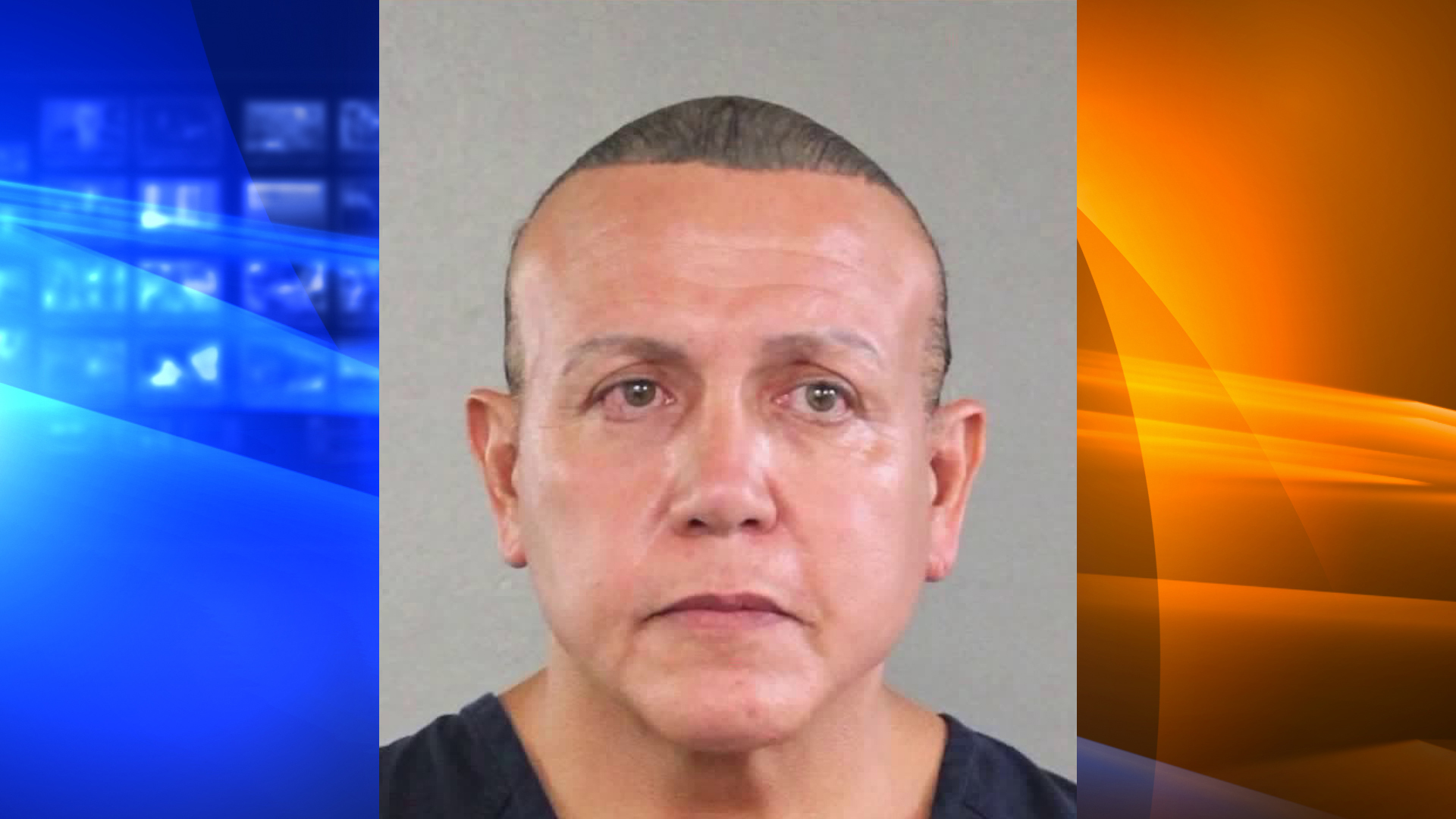 Cesar Sayoc is seen in a booking photo from 2015 released by the Broward County Sheriff's Office and obtained by CNN.
