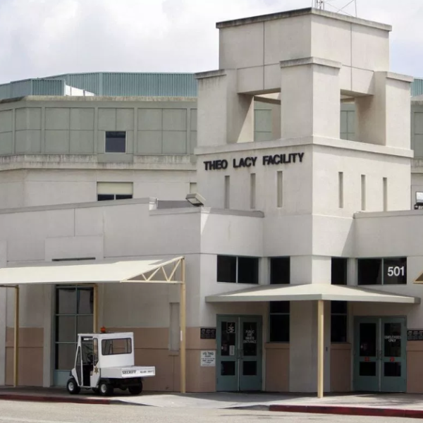 The Theo Lacy Facility in Orange is seen in an undated photo. (Mark Boster / Los Angeles Times)