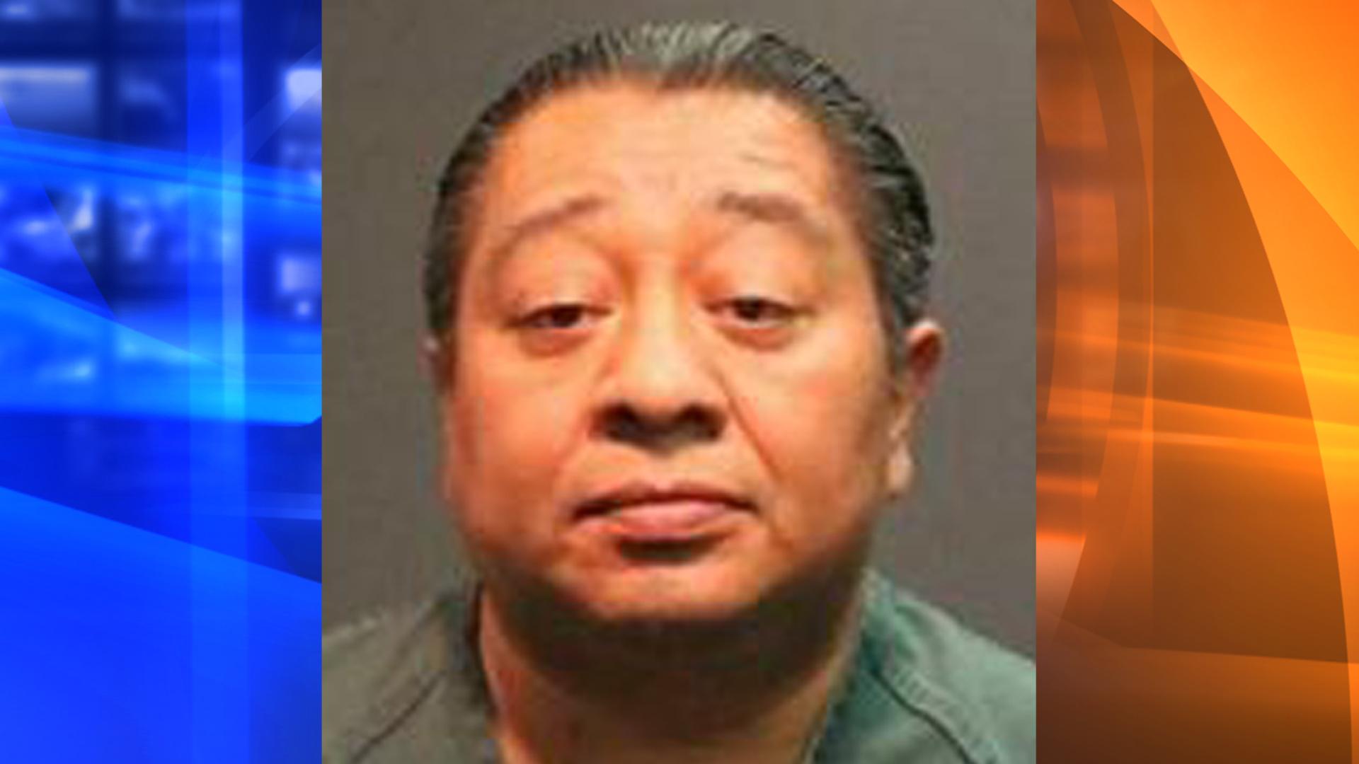 Juan Carlos Alcantara, 47, is seen in a photo released by Santa Ana police on Oct. 19, 2018.