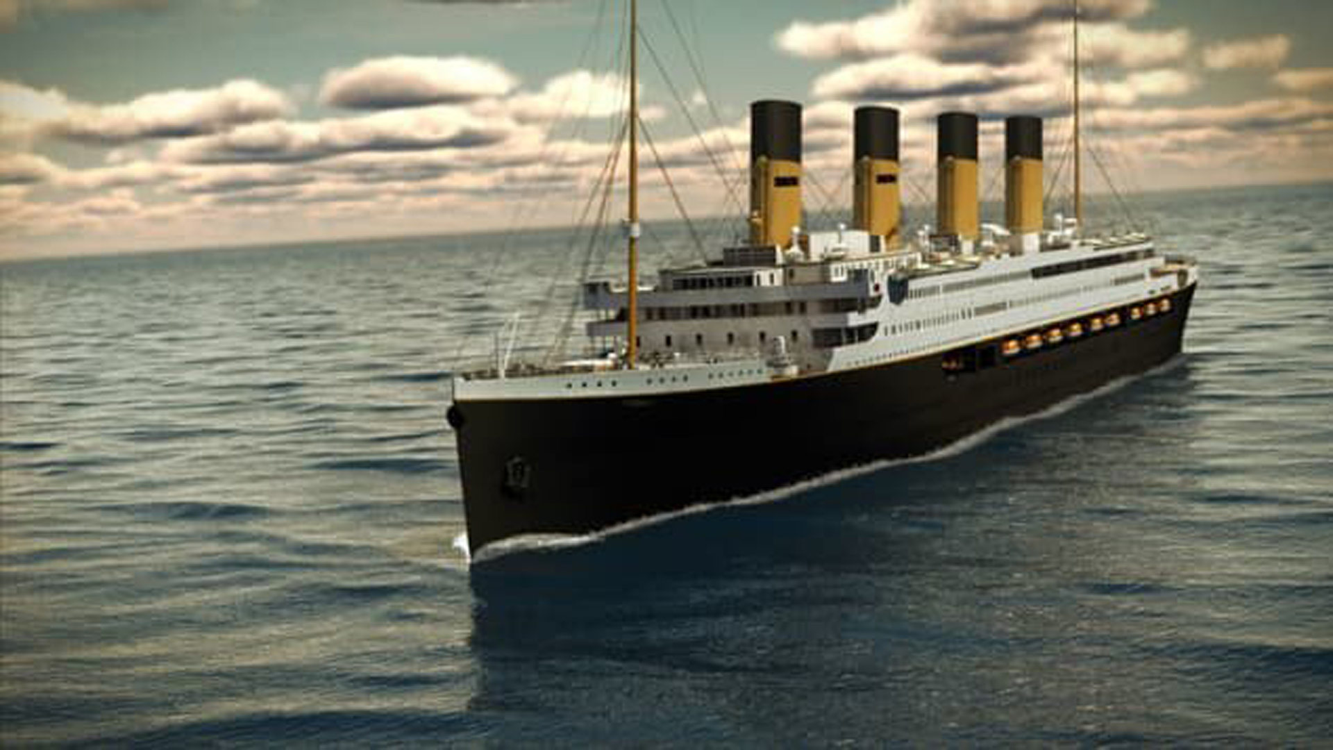 A rendering of the Titanic II. (Credit: Blue Star Line via CNN Wire)