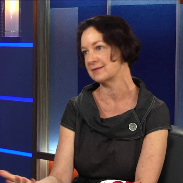 Maryjane Puffer, executive director of the the L.A. Trust for Children's Health, talks about the fourth annual Tooth Fairy Convention at the Dodger Stadium withKTLA's 5 Live on Oct. 22, 2018.