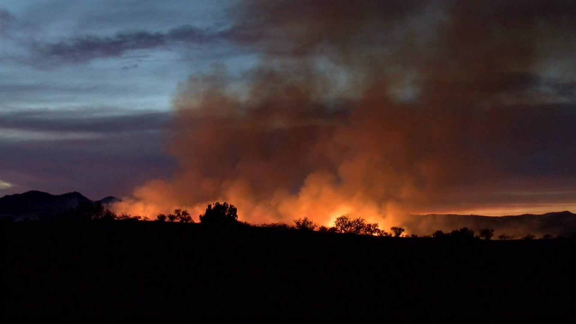 The Sawmill Fire burned 47,000 acres after spreading to the Coronado National Forest in Arizona in April 2017. (Credit: KGUN)