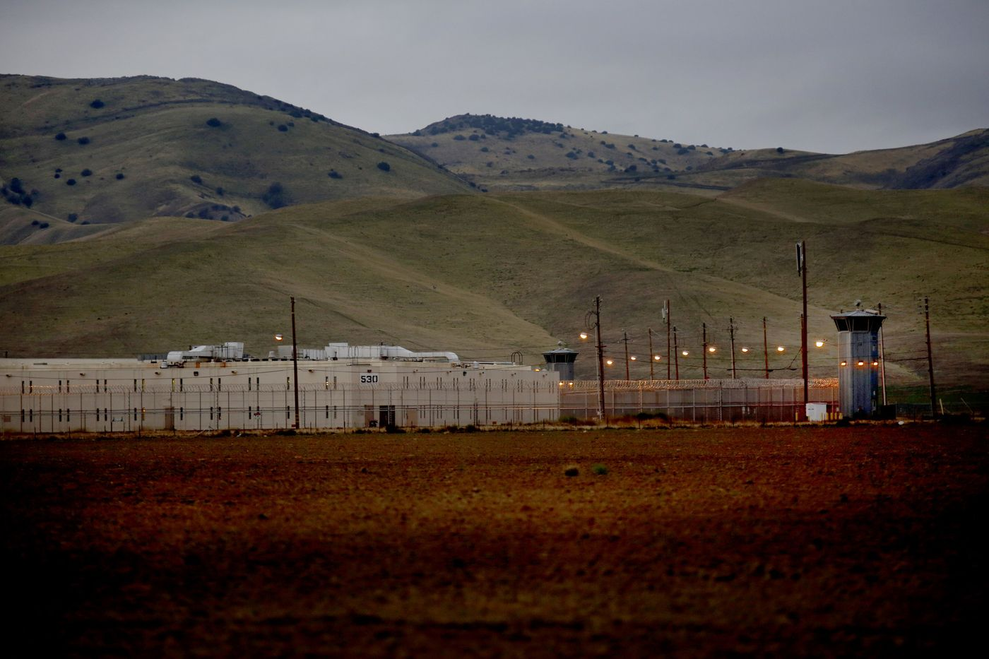 Avenal State Prison in Kings County is seen in an undated photo. (Credit: Francine Orr / Los Angeles Times)