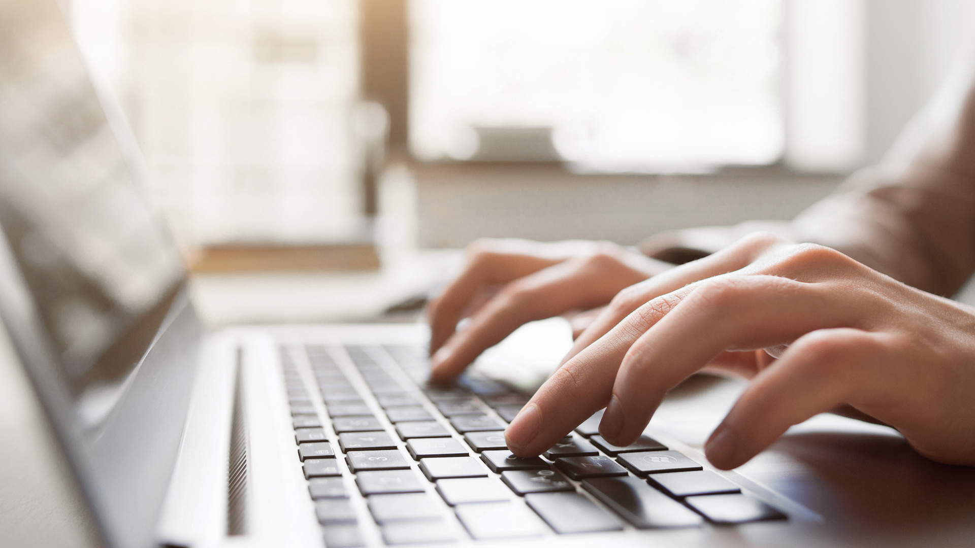 A file image of someone using a computer. (Credit: iStock / Getty Images Plus)