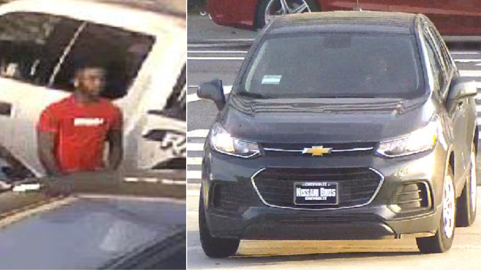 El Segundo police released these images of a vehicle and a man they believed to be involved in an armed robbery on Nov. 18, 2018.