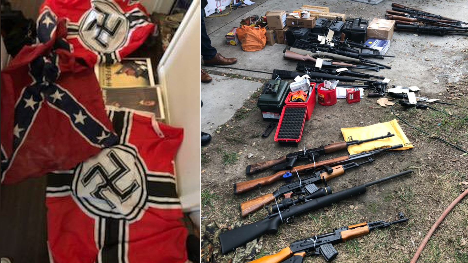 Images of items found in a Huntington Beach home were released by the Laguna Beach Police Department on Nov. 28, 2018.
