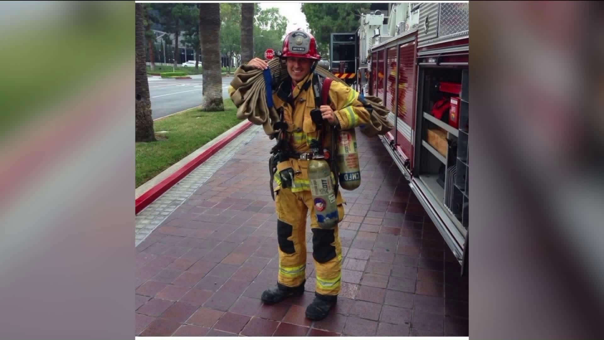 Costa Mesa Fire and Rescue Capt. Mike Kreza. (Credit: Costa Meda Fire & Rescue)