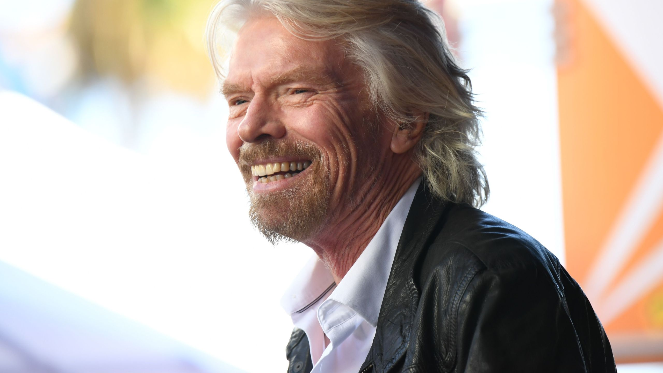 Sir Richard Branson attends his Hollywood Walk of Fame star unveiling ceremony, October 16, 2018 in Hollywood, California. (Credit: ROBYN BECK/AFP/Getty Images)