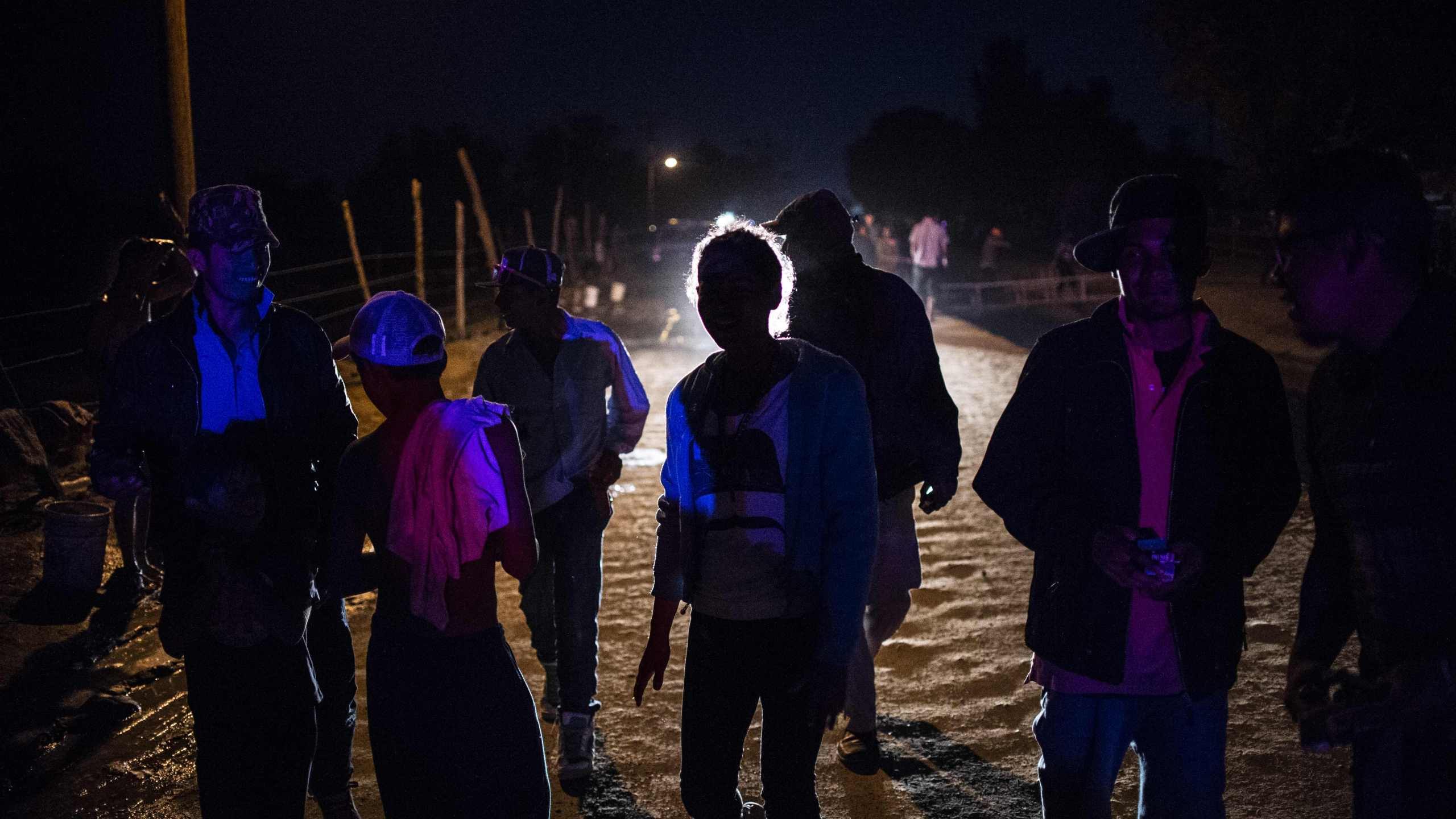 Central American migrants moving towards the U.S. in hopes of a better life remain in a shelter in Mexicali, in the Mexican state of Baja California, on Nov. 18, 2018. (Credit: Pedro Pardo / AFP / Getty Images)