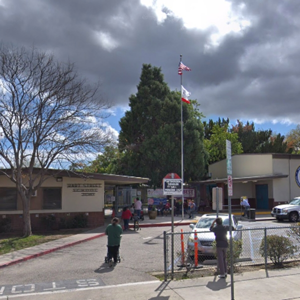 Hart Street Elementary School on Hart Street is seen in a Google Maps Street View Image from March 2018.
