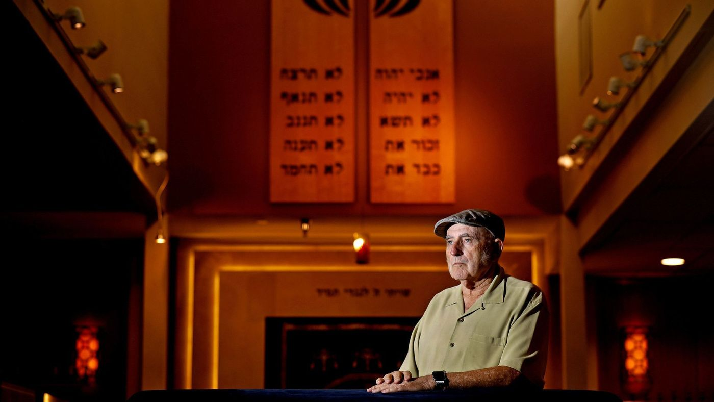 Basil Luck, co-founder of Beth Jacob Congregation in Irvine, is seen in an undated photo. (Credit: Gary Coronado / Los Angeles Times)