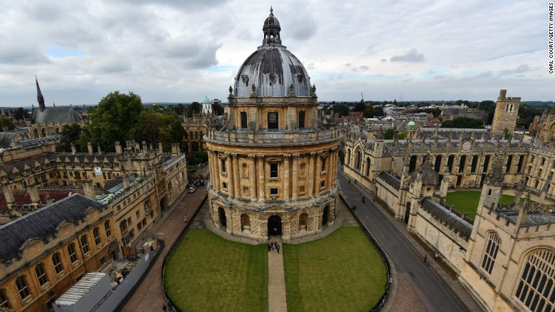 Oxford University is shown in a file photo. (Credit: Carl Court/Getty Images)