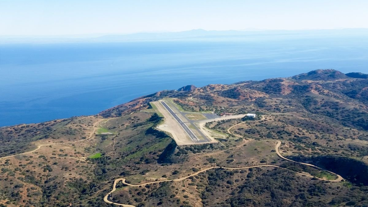 """Catalina's """"Airport in the Sky"""" is shown in an undated photo. (Credit: Getty Images via CNN)"""