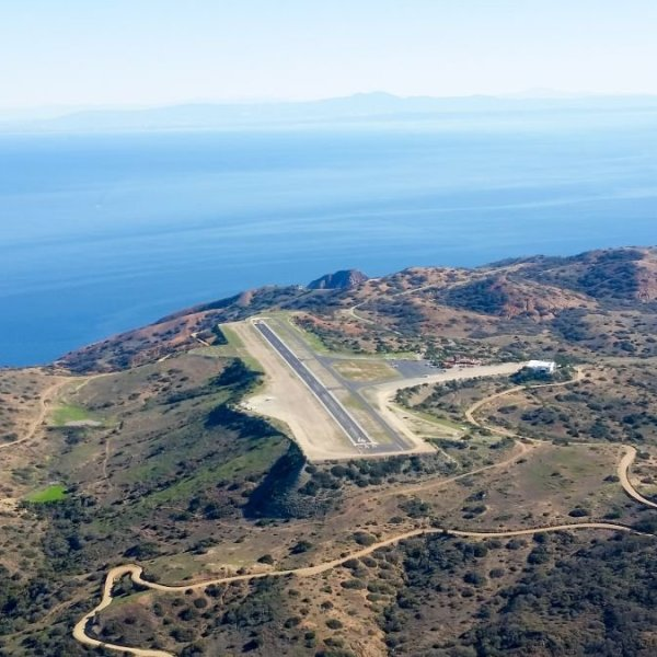 "Catalina's ""Airport in the Sky"" is shown in an undated photo. (Credit: Getty Images via CNN)"