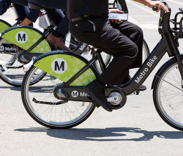 Bikes are seen in an image posted by Metro to Facebook on Oct. 17, 2018.