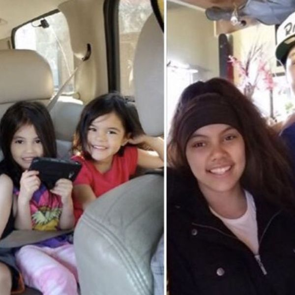 Missing siblings who left their foster home in Stockton are shown in a photo released by the Stockton Police Department on Nov. 5, 2018.