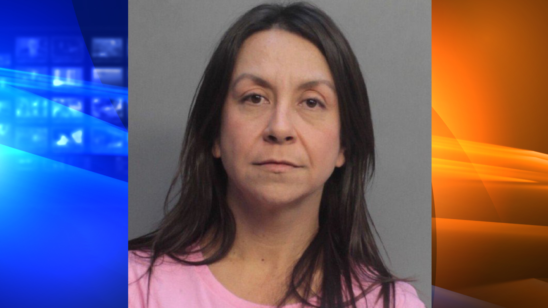 Andrea Jimenez is seen in an undated booking photo. (Credit: WFTS via CNN)