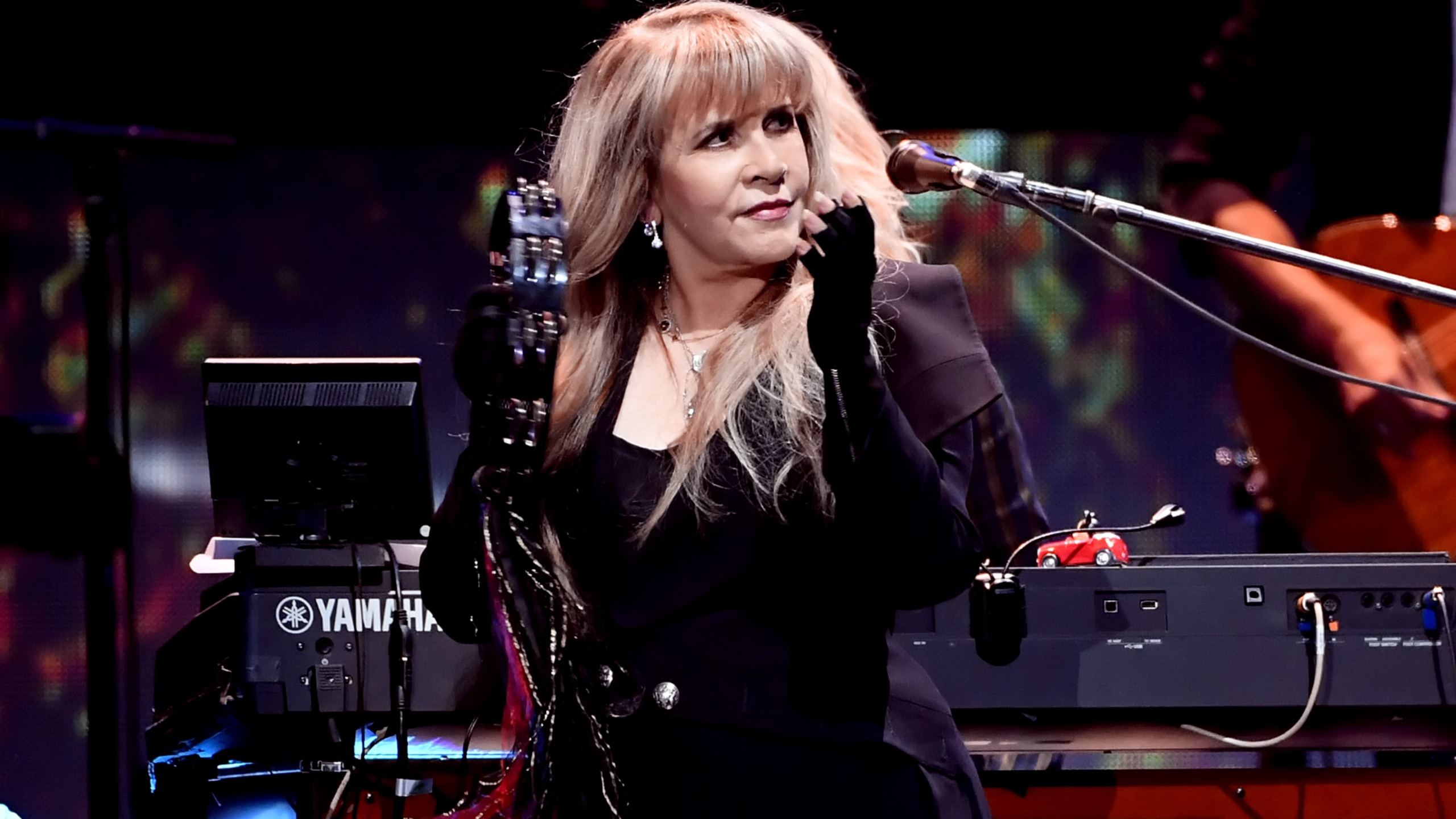 Stevie Nicks of Fleetwood Mac performs onstage during the 2018 iHeartRadio Music Festival at T-Mobile Arena in Las Vegas on Sept. 21, 2018. (Credit: Kevin Winter / Getty Images for iHeartMedia)