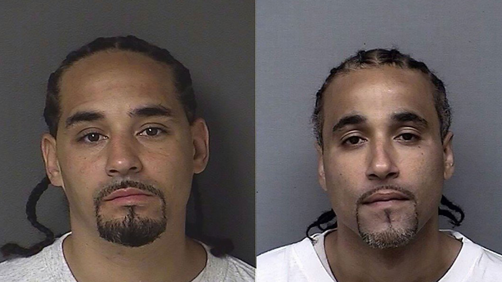 From left: Ricky Amos and Richard Anthony Jones are seen in undated photos from the Kansas Department of Corrections via CNN. Amos committed a robbery which Jones ended up being wrongfully convicted for before spending 17 years in prison for the crime.