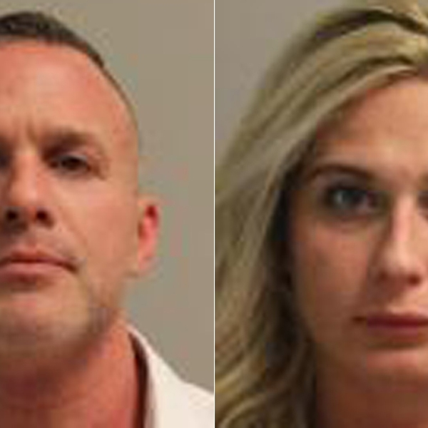 New York State Police released these booking photos of Michael Nelson, left, and Alexandra Nelson, right.