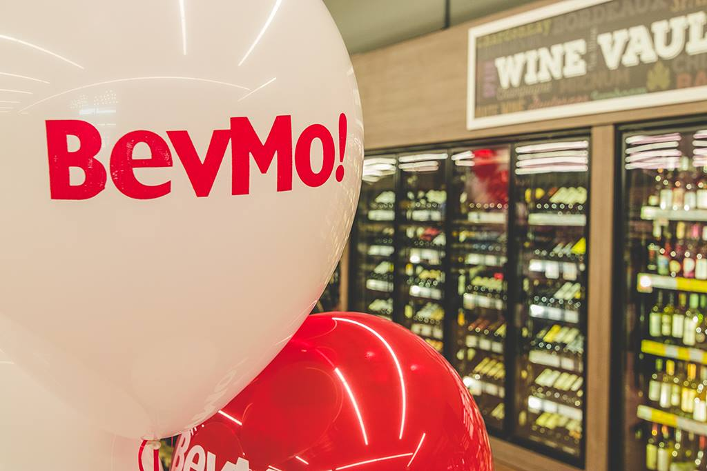 BevMo's Facebook page posted this image of a balloon bearing the brand's logo on Aug. 29, 2018.
