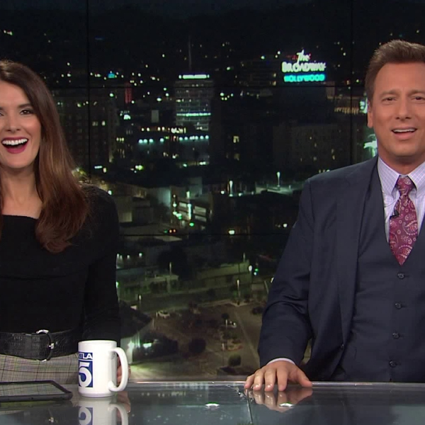 Christina Pascucci and Chris Burrous anchored the Early Edition of the KTLA 5 Morning News on Dec. 27, 2018. (Credit: KTLA)