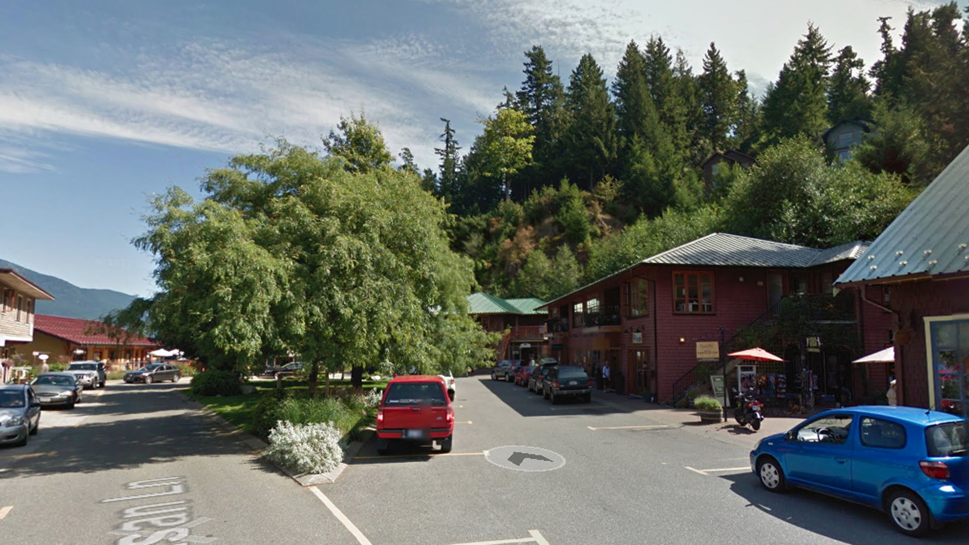 The area of British Columbia where Bowen Island Montessori School is located is seen in this undated image from Google Maps.