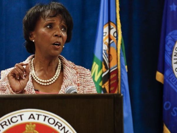 Los Angeles County District Attorney Jackie Lacey appears in an undated photo. (Credit: Mel Melcon/Los Angeles Times)