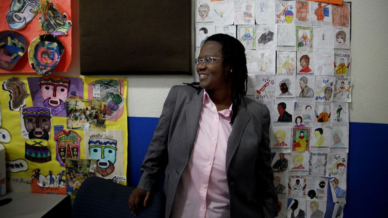 Vielka McFarlane is seen in a file photo from 2011. (Credit: Francine Orr / Los Angeles Times)