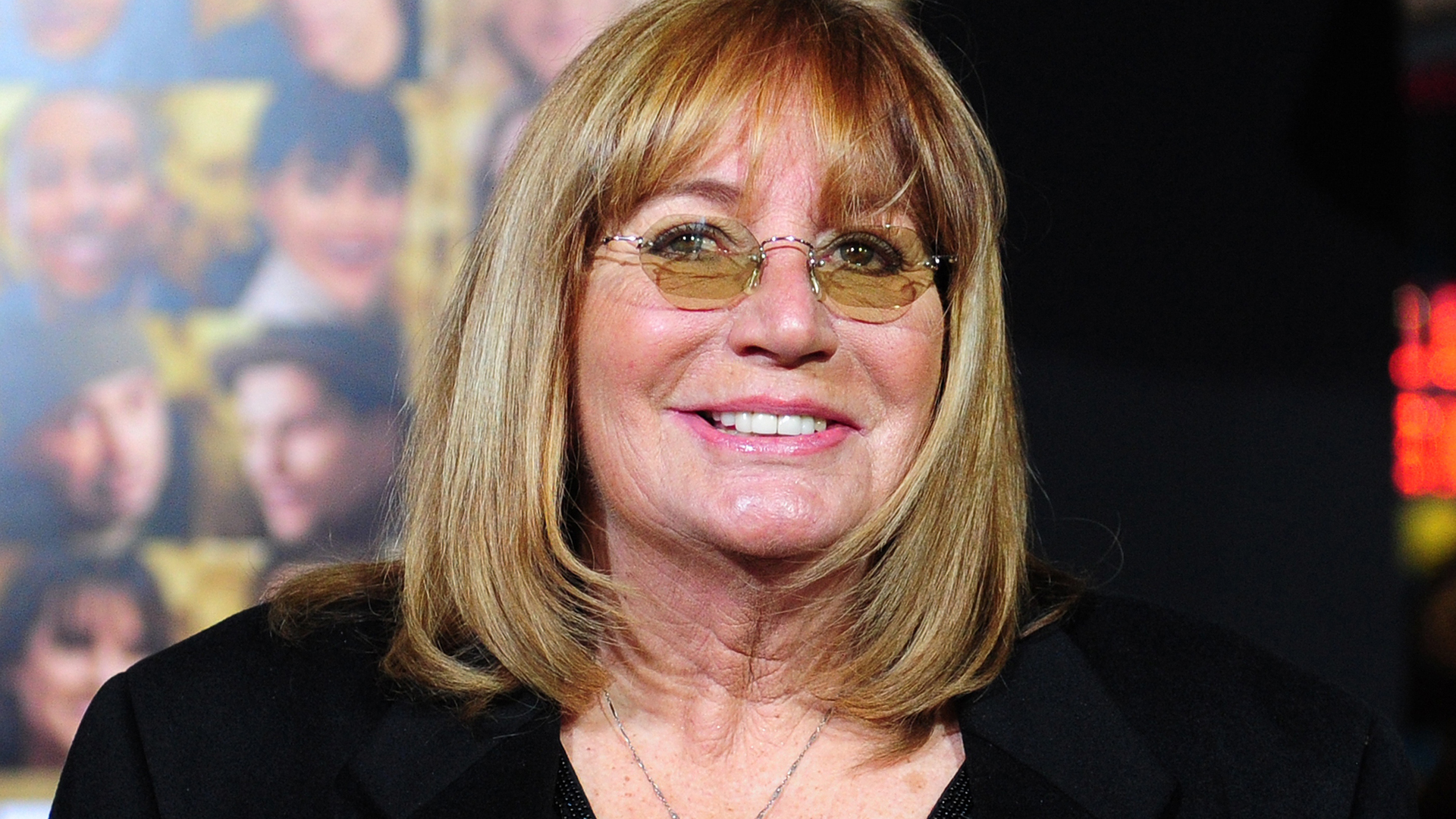 Actress Penny Marshall poses on arrival for the film premiere of 'New Year's Eve' at Grauman's Chinese Theater in Hollywood on December 5, 2011. (Credit: FREDERIC J. BROWN/AFP/Getty Images)