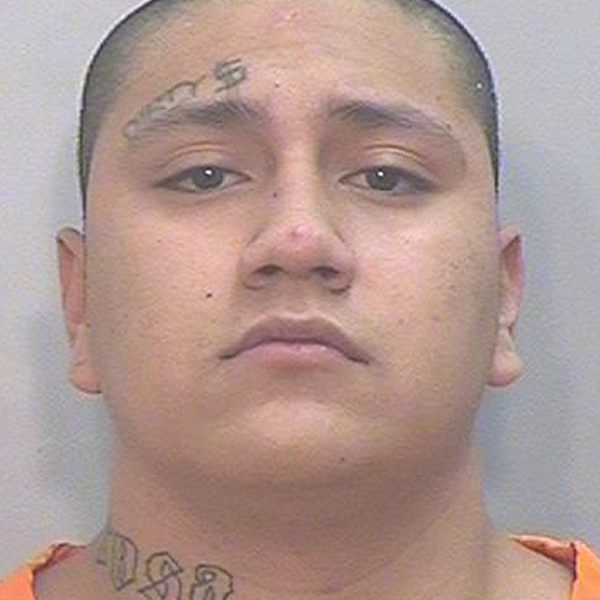 Shalom Mendoza is seen in an image provided by California Department of Corrections and Rehabilitation.