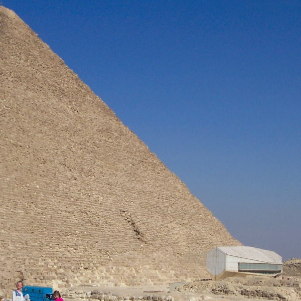 The Great Khufu Pyramid of Giza is seen in this undated photo. (Credit: CNN)
