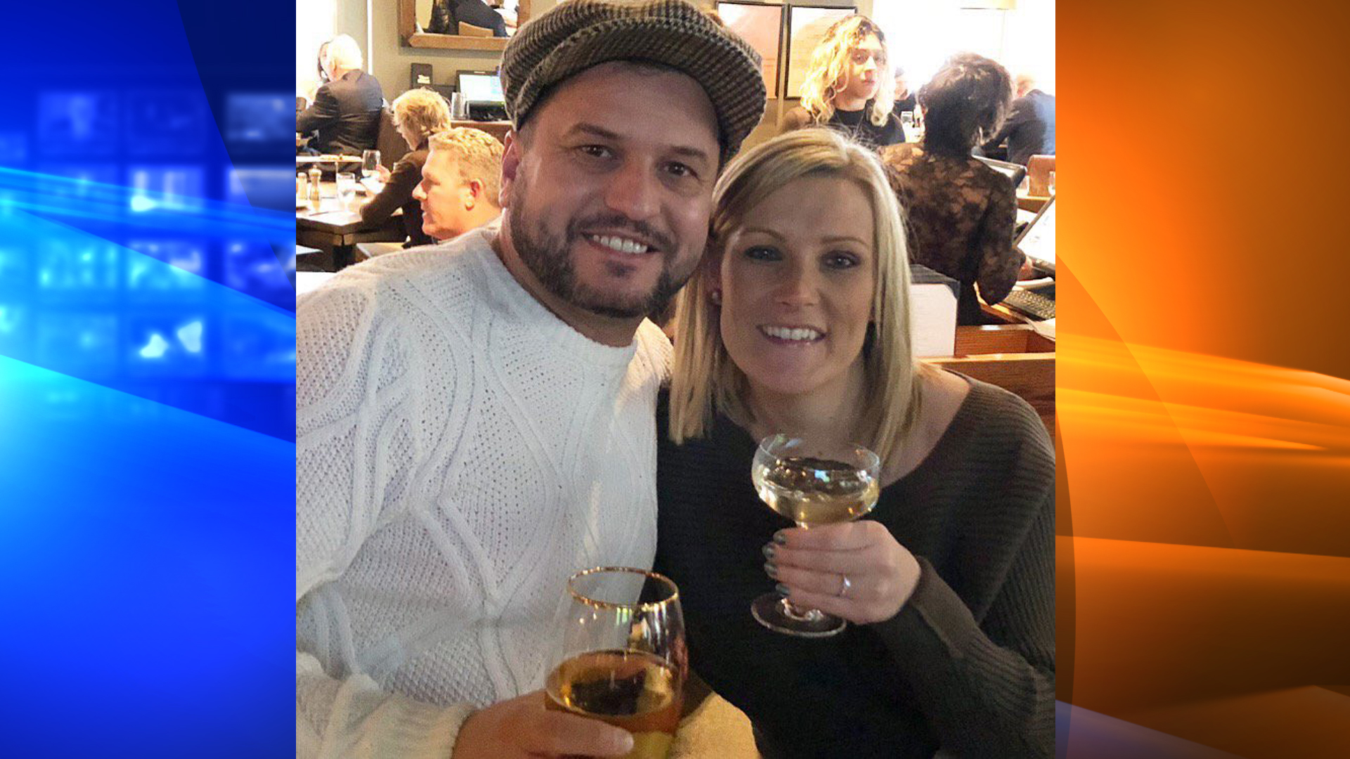 A couple, identified by the New York Police Department as John and Daniella, were reunited with their engagement ring with the help of police and social media on Dec. 2018. (Credit: NYPD)