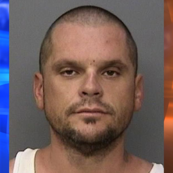 Jeremy Allen Roudebush, 41, is seen in a photo released by Redding Police Department on Dec. 20, 2018.