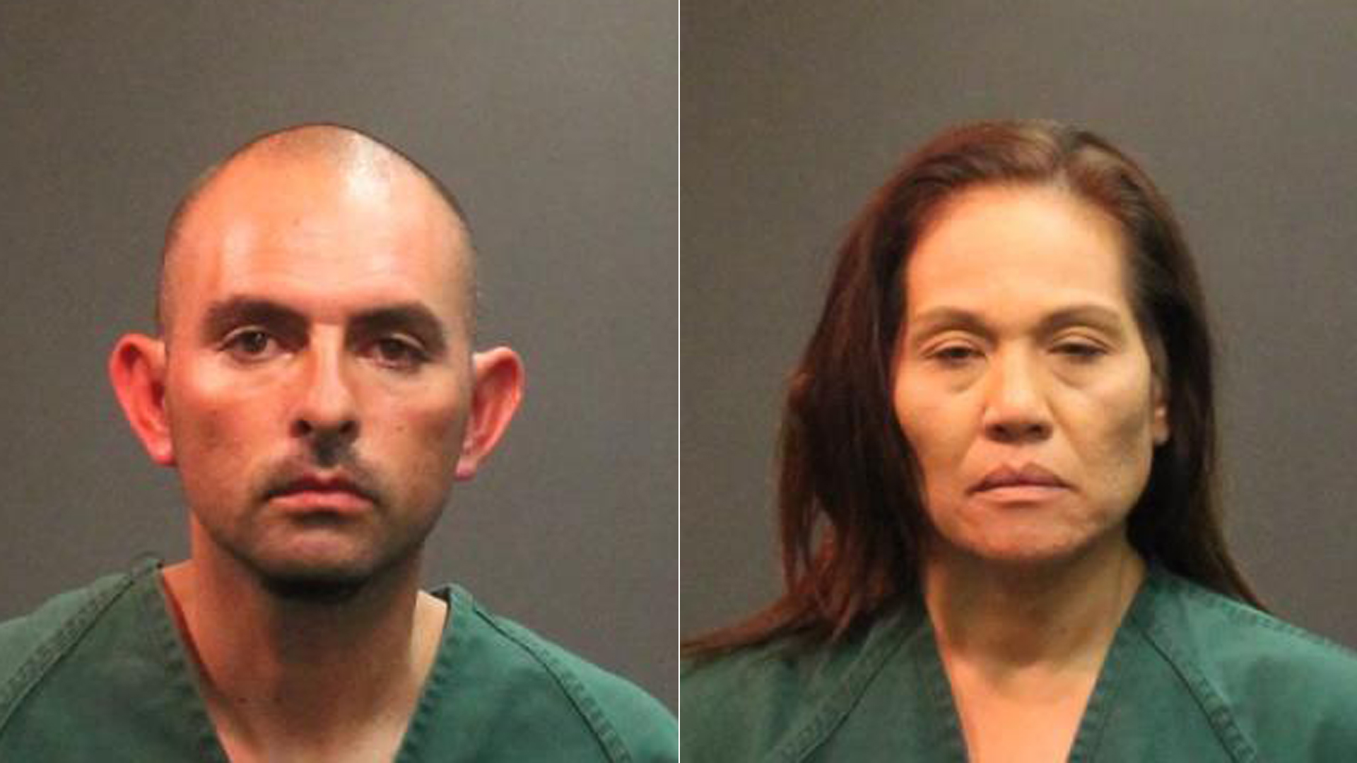 Jose Jimenez, 39, and Renee Paredes, 49 are shown in this photo released by the Santa Ana Police Department on Dec. 21, 2018.