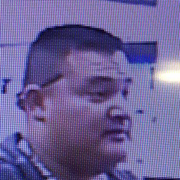 Gustavo Perez Arriaga is seen in a surveillance image from the Stanislaus County Sheriff's Department.