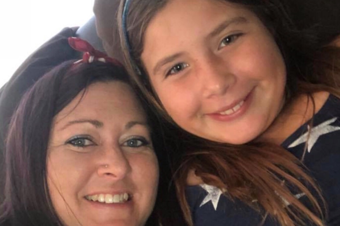 Jolene Gardner and Payton Castillo are seen in an undated photo posted to a GoFundMe page.