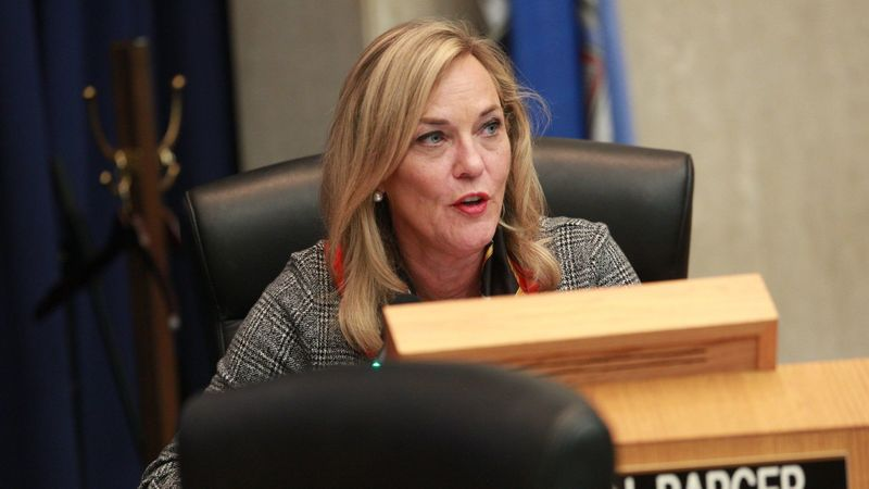 Los Angeles County Supervisor Kathryn Barger is seen in this undated photo. (Kirk McKoy / Los Angeles Times)