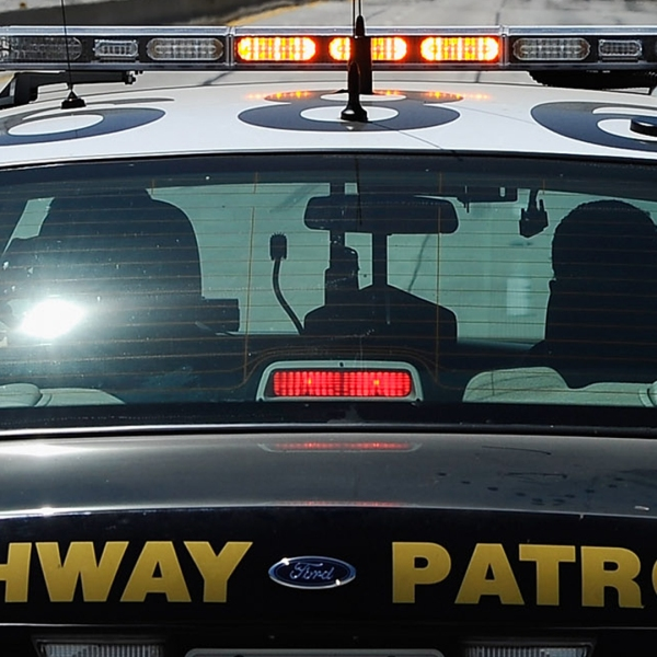 A California Highway Patrol cruiser is seen in this photo. (Credit: Kevork Djansezian/Getty Images)
