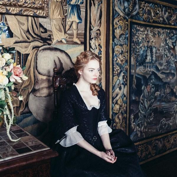 Emma Stone in the film 'The Favourite'. (Credit: 20th Century Fox Yorgos Lanthimos)