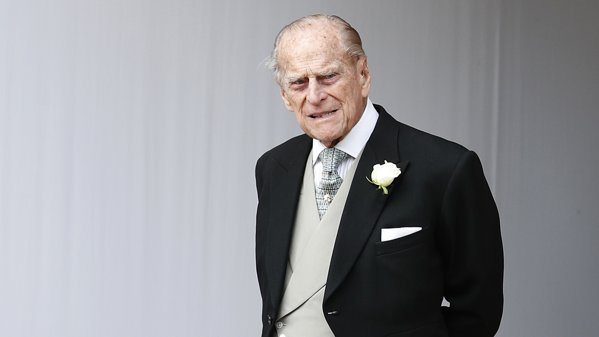 Prince Philip, Duke of Edinburgh attends the wedding of Princess Eugenie of York at St. George's Chapel on Oct. 12, 2018, in Windsor, England. (Credit: Alastair Grant - WPA Pool/Getty Images)