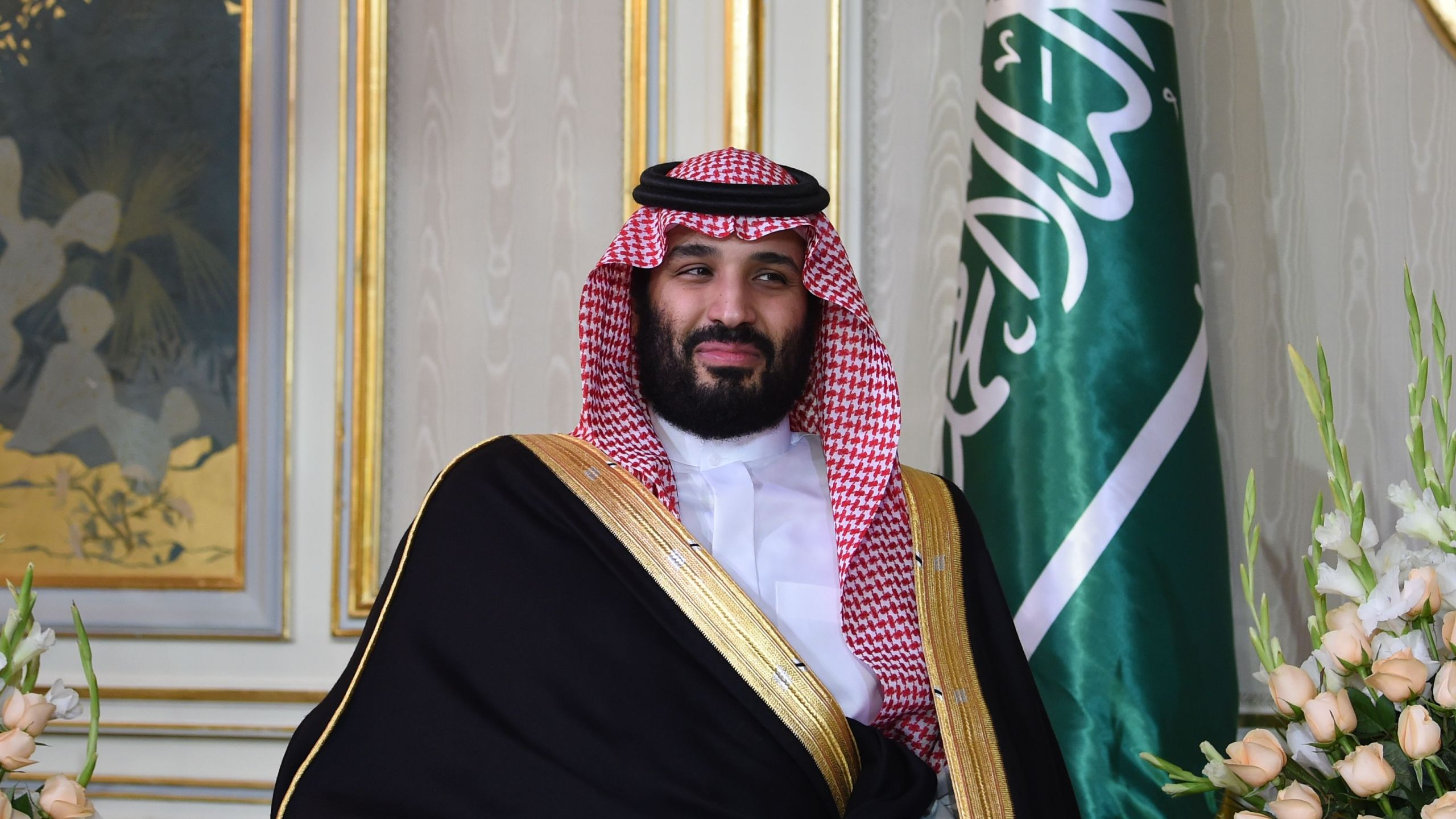 Saudi Arabia's Crown Prince Mohammed bin Salman is pictured at a meeting in Tunis on Nov. 27, 2018. (Credit: Fethi Belaid/AFP/Getty Images)