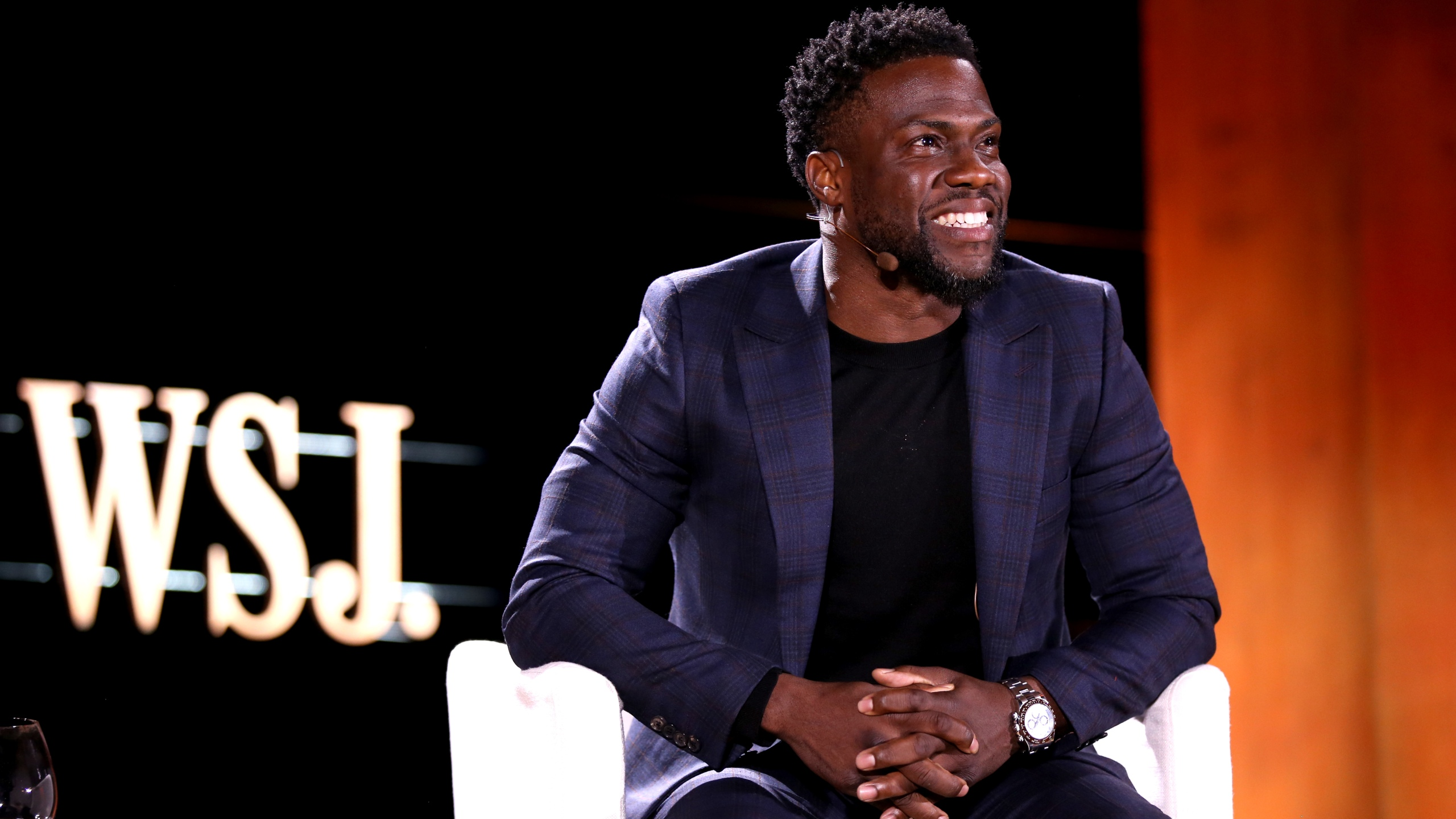 Kevin Hart attends the WSJ Tech D.Live at Montage Laguna Beach on November 13, 2018 in Laguna Beach. (Credit: Phillip Faraone/Getty Images for The Wall Street Journal and WSJ. Magazine)