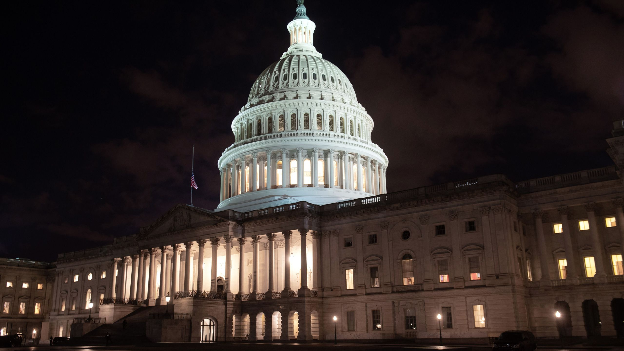 The U.S. Capitol is seen ahead of the partial government shutdown, in Washington, D.C., Dec. 21, 2018. (Credit: SAUL LOEB/AFP/Getty Images)