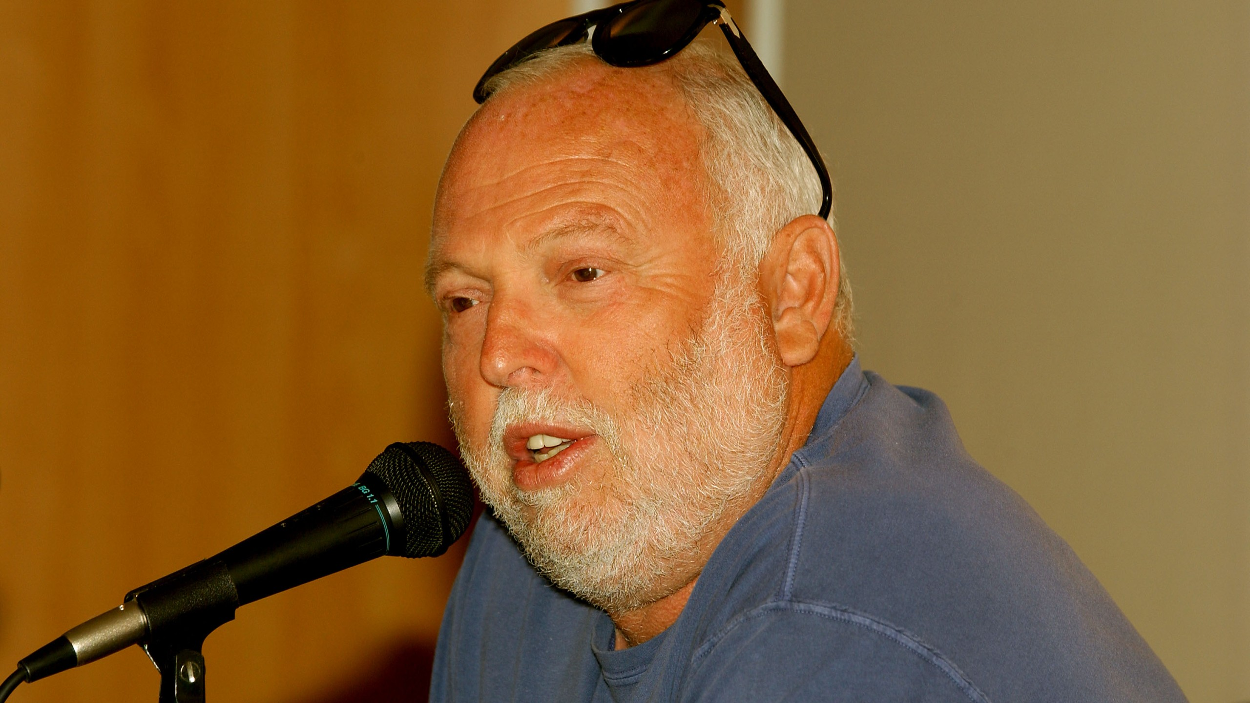 Andy Vajna speaks during the Variety Cannes Conference Series on May 17, 2003, in Cannes, France. (Credit: Frank Micelotta/Getty Images)