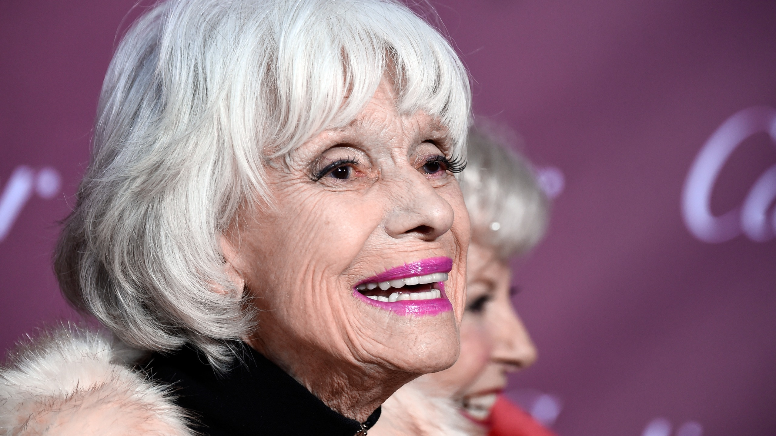 Carol Channing attends the 26th Annual Palm Springs International Film Festival Awards Gala at Parker Palm Springs on January 3, 2015 in Palm Springs, California. (Photo by Frazer Harrison/Getty Images)
