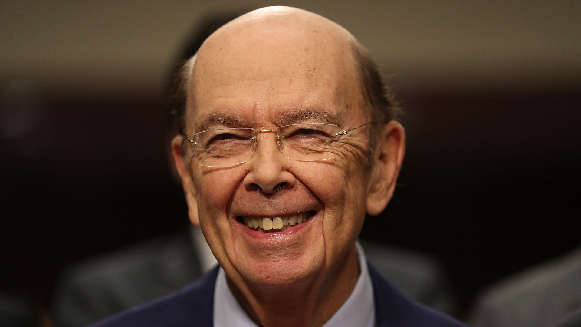 Wilbur Ross, picked by President-elect Donald Trump to serve as his commerce secretary, testifies at his confirmation hearing in front of the Senate Commerce Committee on Capitol Hill on January 18, 2017 in Washington, DC. (Credit: Joe Raedle/Getty Images)