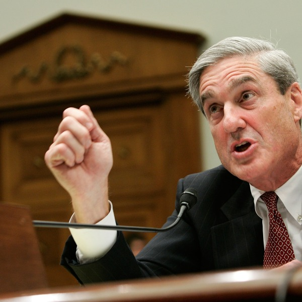 FBI Director Robert Mueller testifies during a hearing before the House Judiciary Committee July 26, 2007, on Capitol Hill in Washington, D.C. (Credit: Alex Wong/Getty Images)