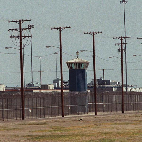 Corcoran State Prison is seen in this file photo. (Credit: Online USA via Getty Images)