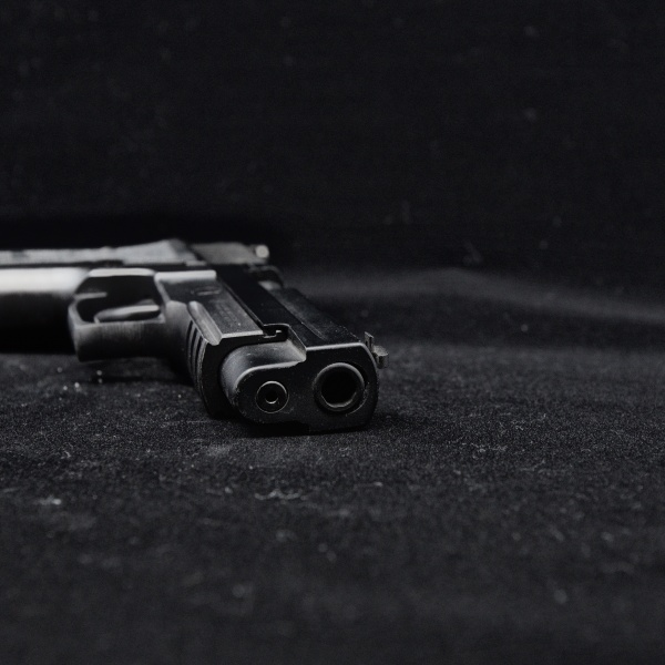 A handgun is shown in a file image. (Credit: Moment via Getty Images)